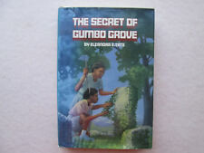 THE SECRET OF GUMBO GROVE by Eleanora E. Tate 1987 HCDJ Signed 1st Edition FIRST