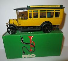 OLD VINTAGE RIO 1915 FIAT OMNIBUS 18 BL FIRENZE POGGIBONSI VOLTERRA 1/43 REF 20