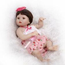 Waterproof 22in. 56cm Real Looking Reborn Newborn Doll Anatomically Correct Girl
