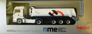 Nme 503205 Man Tgs LX Tractor Road With Construction Tipper Holcim Ho 1:87