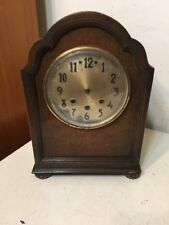 Antique Mauthe Westminster Chime Mantle Clock Parts Project Great Case