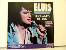 White Vinyl ! Elvis Presley 45 Unchained Melody/Softly As I Leave, RCA-11212,'78