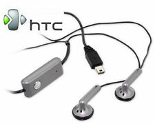 Genuine HTC EMC220 In-ear Stereo Handsfree Headset for HD2 Magic Touch - Silver