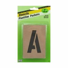 "3"" Reusable Oilboard Stencil Set (Letters & Numbers)"