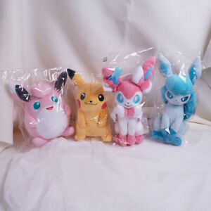 Japan Pokemon Center X Sanei TOY Campany ALL STAR COLLECTION LIMITED plush toys
