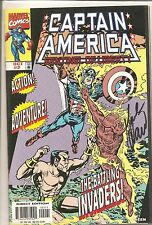 Captain America Sentinel of Liberty #2 Comic Book Signed by Mark Waid