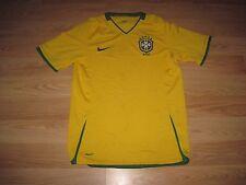 Nike Brazil Size Small Football/Soccer Jersey/Nascido Para Jogar Futebol/Free SH