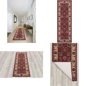 Non Slip Persian Style Hall Runner Rug Long Rugs Hallway Area Carpet Rubber Mat