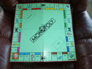 MONOPOLY GAME PART + A VINTAGE BOARD +