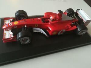 FERRARI F 2002 Michael Schumacher sein 3 W. M.Titel mit Ferrari 1:18 TOP ZUSTAND