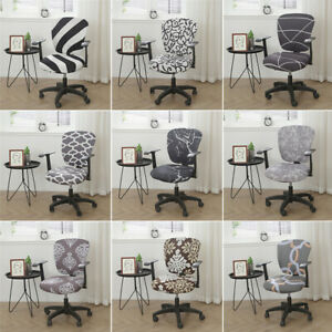 Split Slipcover Office Chair Covers Slipcover Rotating Computer Chair Protector