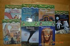 Lot of 7 Magic Tree House Chapter Books Teacher Homeschool Classroom EUC