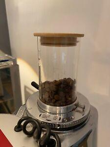 Tages Bohnenbehälter für Mazzer Mini Bean Grinder Hopper Deckel + Dichtung