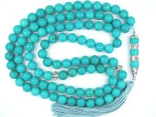 10mm x99 TURQUOISE Firoza ISLAMIC TASBIH MASBAHA PRAYER BEADS QURAN GIFT