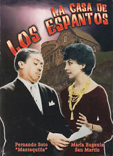 DVD - La Casa De Los Espantos NEW Maria Enguenia San Martin FAST SHIPPING !
