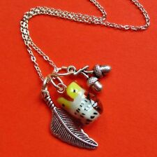 Silver Plated Animals Insects Charm Costume Necklaces & Pendants