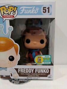 Funko POP Vinyl Freddy Funko As Fred Flintstone Sdcc 2016 Limited To 333 Piece