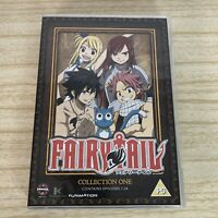 Fairy Tail - Collection One DVD Boxset Contains Episodes 1-24 (4 Discs) Manga