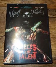 Pieces of Talent (DVD 2-Disc Set, 2014) Autographed/Signed by K. Ray & D. Long