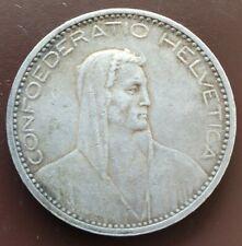 5 Franken 1923 B Silber RAR!