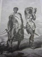 VOYAGE EN AFRIQUE DE P.F LE VAILLANT de 1780 à 1785
