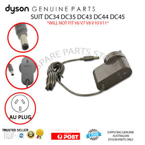 DYSON DC45 DC44 DC43 DC35 POWER SUPPLY CHARGER  - GENUINE with AUSTRALIAN PLUG