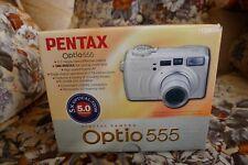 PENTAX Pentax Optio 555 5.0MP Digital Camera - Silver (comes with box)