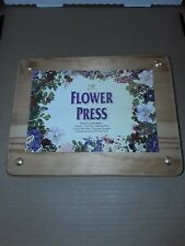 Webster Group Flower Drying Press w Instructions Dyi Press