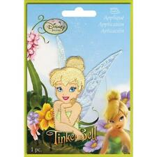 Disney Iron on Patch Smiling Tinkerbell by Wrights 1933274001