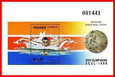 PANAMA 1989 SEOUL OLYMPICS S/S  SC#760 MNH SPORTS (NO, YOU DON'T HAVE IT!)