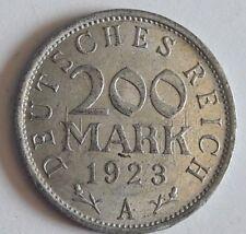 200 Mark 1923 A, Jg.304, vzgl. Allemagne Deutschland
