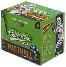 NFL GRIDION TRADING CARDS BOX 2018 Panini Classics Football Hobby Box BRAND NEW!