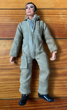 1971 Mego Corp Jointed Action Figure Soldier In Brown Jump Suit 8""
