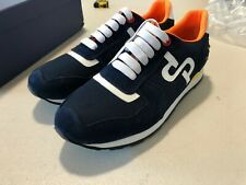 OPP Men's Casual Leather Energy Lace-Up Sneaker Deep-Blue US MENS SIZE 10