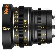 Veydra Mini Prime 12mm T2.2 M4/3 (Imperial Focus Scale)