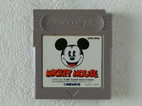 Mickey Mouse GB KEMCO Nintendo Gameboy From Japan