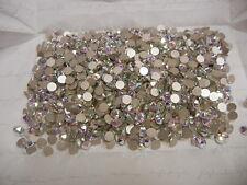 144 swarovski XIRIUS rose flatbacks,20ss crystal AB/foiled #2088