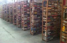 Lotto stock di 100 libri Romanzi. Solo Romanzi. Per mercatini ecc.. 0,49 € cad.