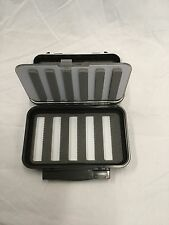 C&F FLY BOX CF-2556N MEDIUM WATERPROOF BOX/FLIP, 4 WHEELS/5 ROW  RETAIL $69.95