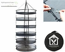 "LightHouse DryNet 75cm (30"") Dry Net Drying Rack Hydroponics Grow Tent 6 Layers"
