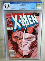 X-Men #7 NEWSSTAND Omega Red Sabe Mav - Marvel 1992 CGC 9.4 NM WP - Comic H0142