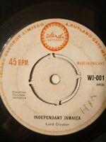 "Lord Creator – Independent Jamaica 7"" Vinyl Single UK Copy"