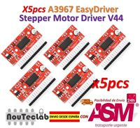 5pcs A3967 EasyDriver Stepper Motore Driver V44 Development Board 3D Stampante