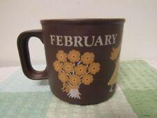 Brown Ceramic Hornsea Pottery