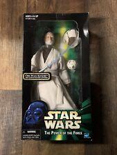 "Star Wars 12"" Figure - MISB - POTF Obi-Wan Kenobi w Glow-In-the-Dark Lightsaber"