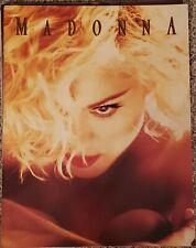 MADONNA 1990 Blonde Ambition Concert Tour Program