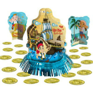 JAKE & THE NEVER LAND PIRATES TABLE DECORATING KIT (23pc) ~ Birthday Party