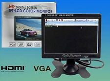 "MONITOR  7"" HD  1024*600 LCD MONITOR SCREEN  HDMI HD 1080 Video  AV VGA HDMI"