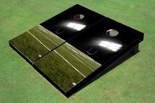 Football Field Custom Cornhole Board