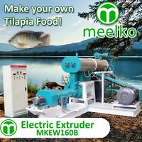 ELECTRIC EXTRUDER TO MAKE YOUR OWN TILAPIA FISH FOOD - MKEW160B (FREE SHIPPING)